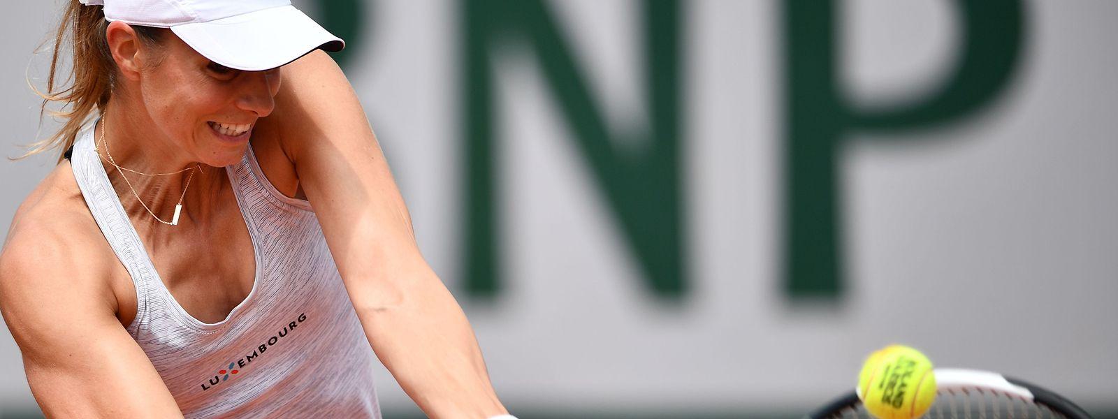 Mandy Minella n'a rien pu faire contre l'Ukrainienne Zavatska, ce jeudi à Contrexéville