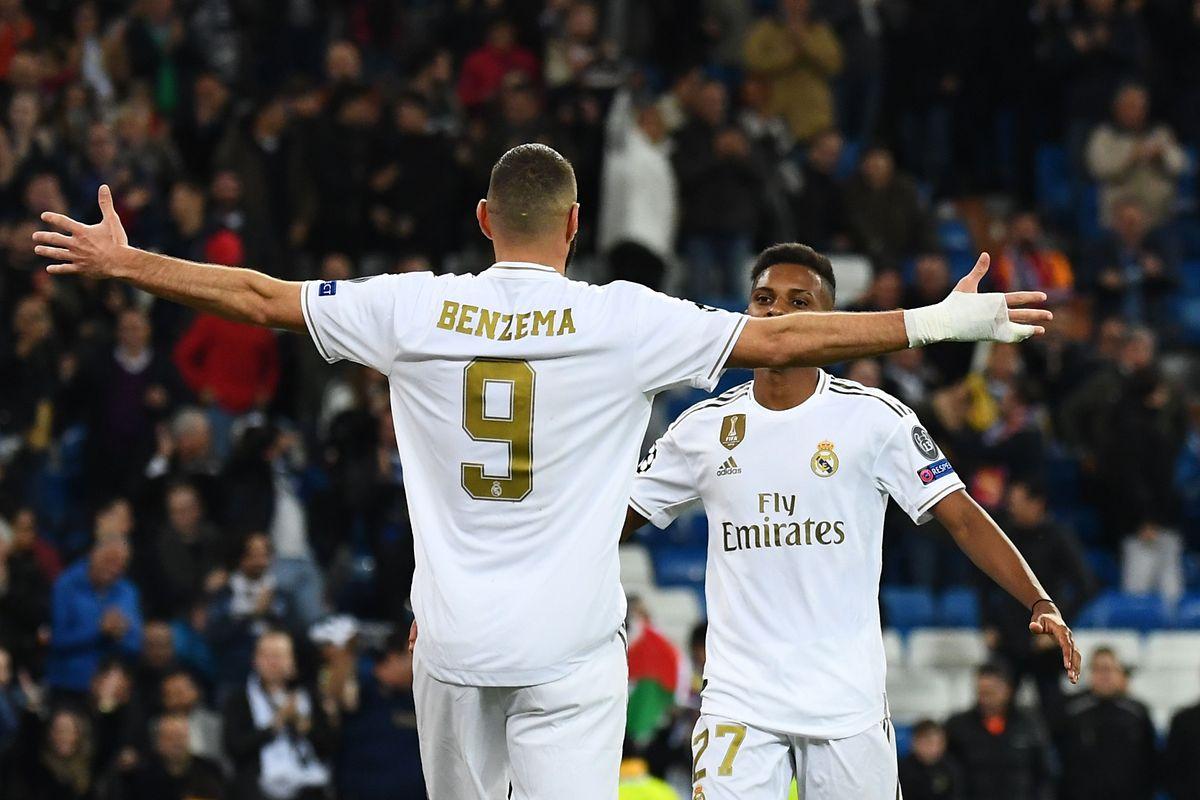 Karim Benzema et Rodrygo: cinq buts à eux deux contre Galatasaray