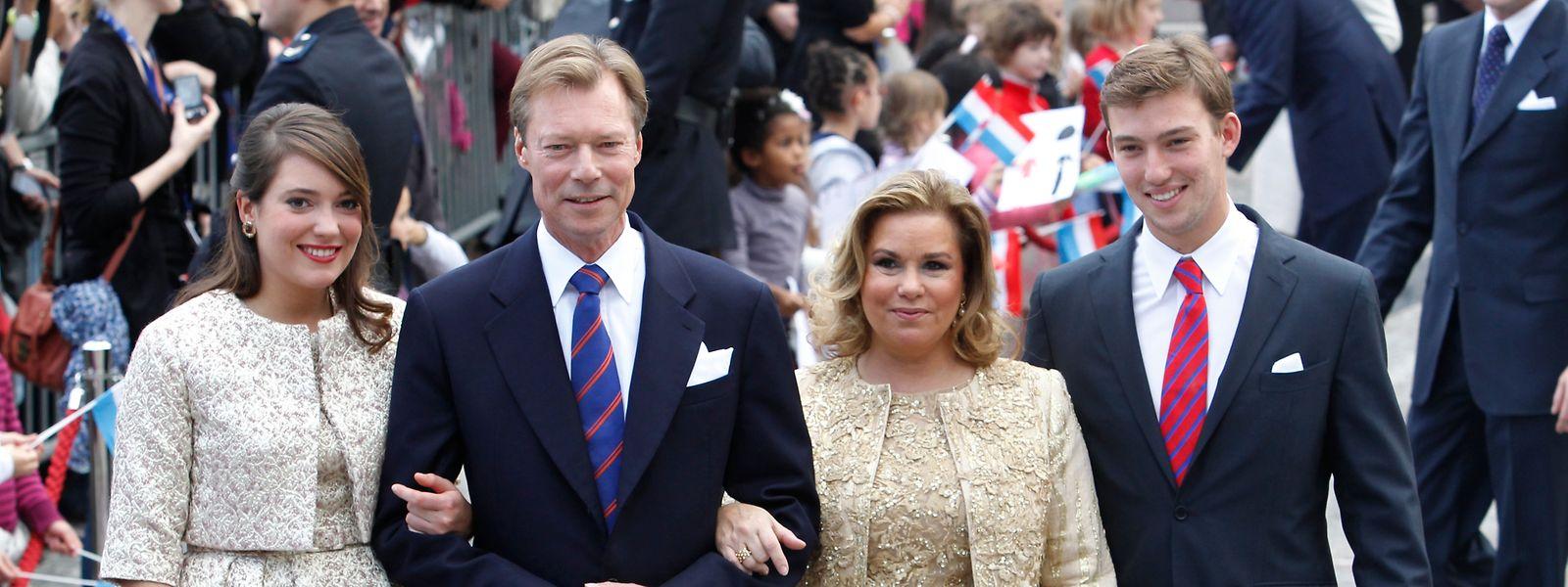 Ce sera un voyage père-fille pour le Grand-Duc et la princesse