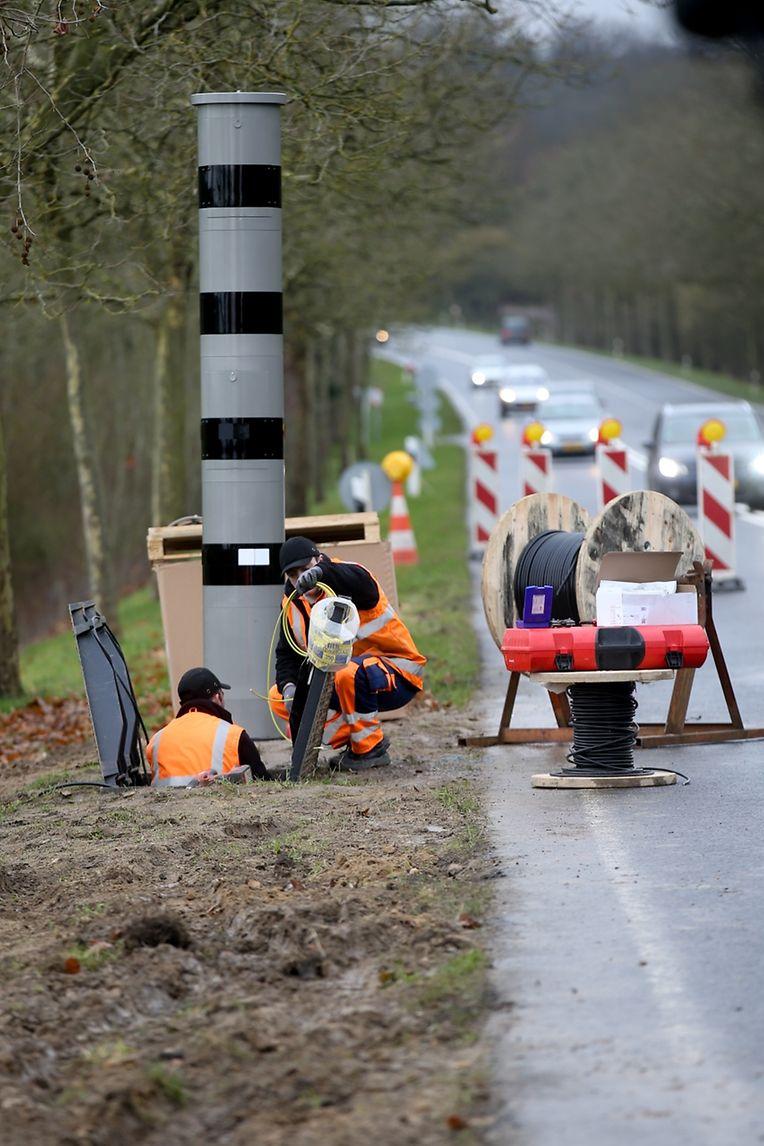 Das erste Radargerät wurde auf der Echternacher Straße am Ortseingang Gonderingen installiert.
