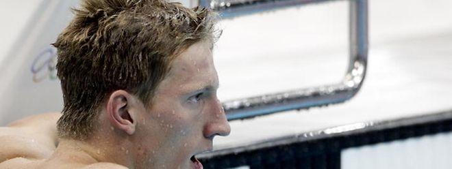So weit schaffte es niemand im Schwimmen bei Olympia wie Laurent Carnol in London.