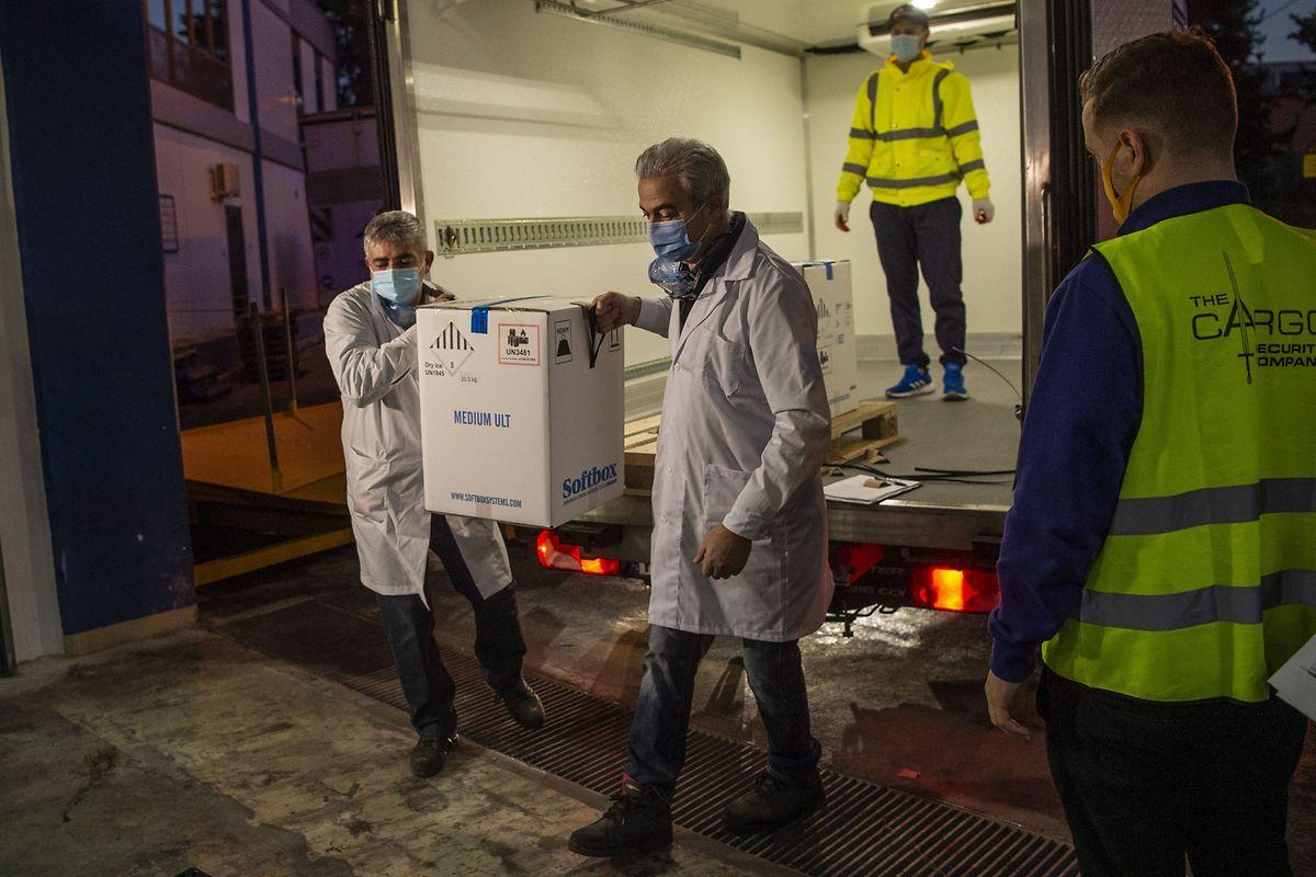Ce 26 décembre, chaque Etat européen a reçu exactement la même quantité de vaccins. La suite des livraisons se fera en fonction de leur population respective.