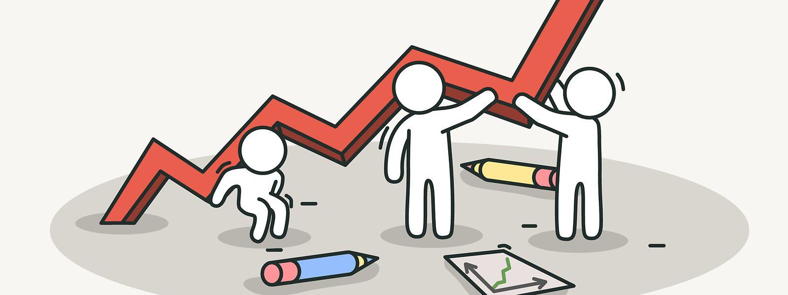 Die Luxemburger Wirtschaft brummt.