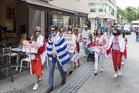 Solidaritäts-Spaziergang für Weissrussland