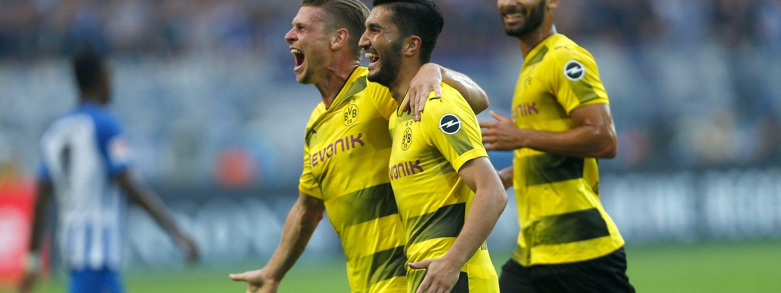 Der BVB zeigte gegen Hertha BSC eine starke Leistung.