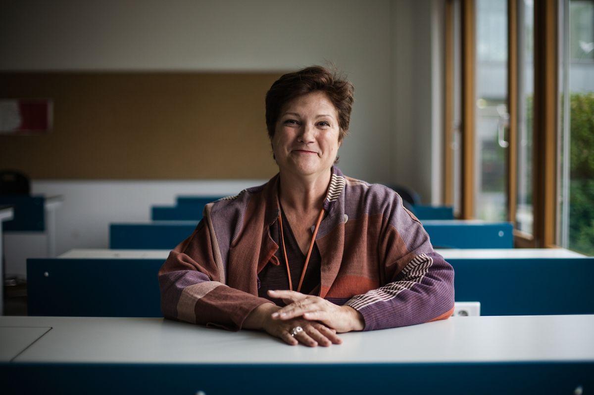 Evelyne Régniez: «Dans notre établissement 78% des élèves sont français, entre 6 et 7% sont luxembourgeois et 16% sont d'autres nationalités. Il y en a 32 en tout.»