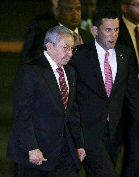 Raul Castro ist am Freitag in Panama angekommen.