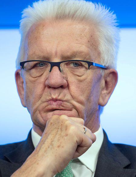 Mehr als nur ein Hype: Winfried Kretschmann rechnet mit weiteren starken Wahlergebnissen für die Grünen.