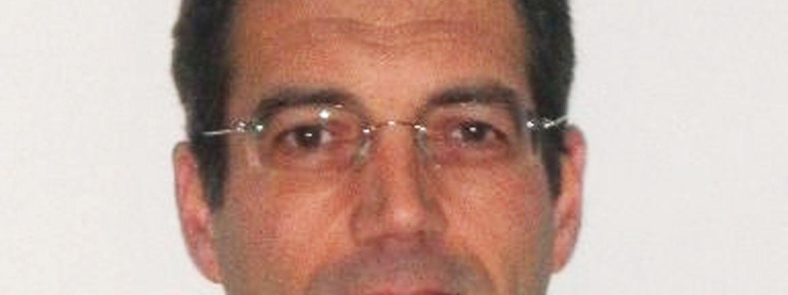 Este é Xavier Dupont de Ligonnès desaparecido desde 2011, e com o qual o luso-descendente foi confundido.