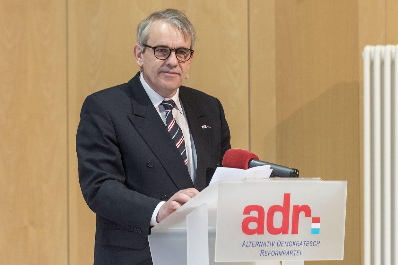 ADR-Präsident Jean Schoos