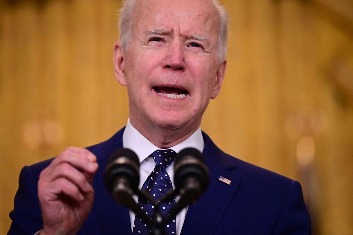 Biden forderte Russland am Donnerstag erneut zur Deeskalation im Ukraine-Konflikt auf.