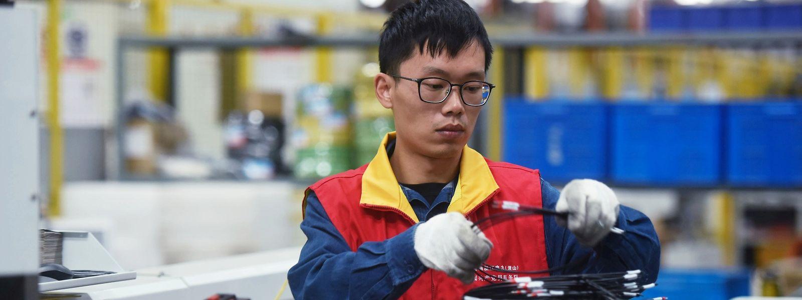 Chinas Industrieproduktion hat wieder Normalniveau erreicht.