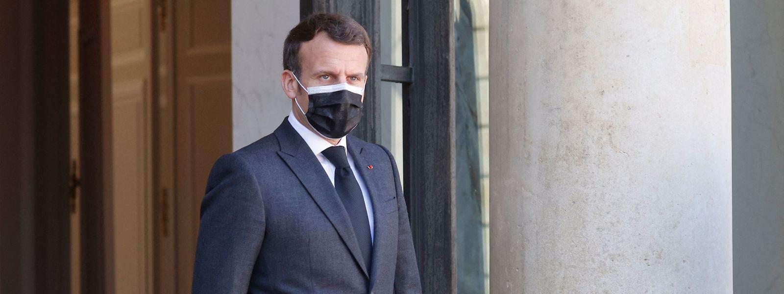 """""""Ich muss kein Mea Culpa aussprechen"""", so der französische Präsident Emmanuel Macron, der vor einem weiteren Lockdown zögert."""