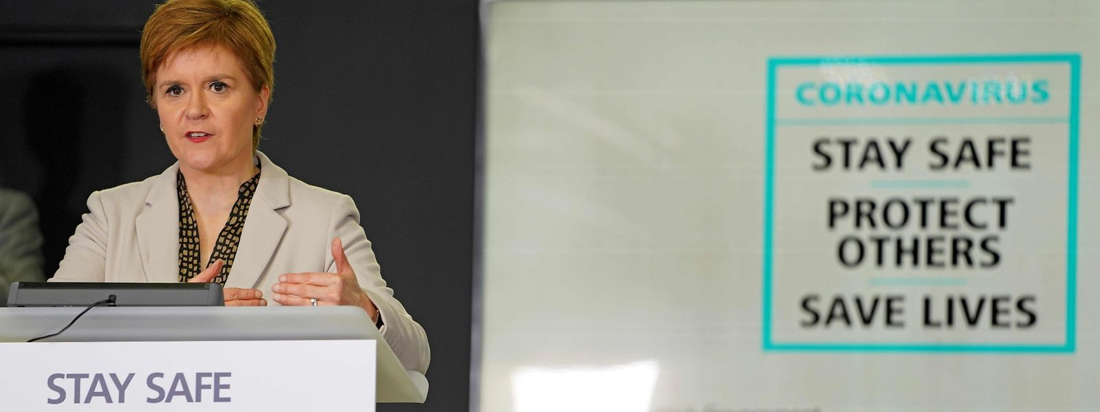 Primeira-Ministra escocesa, Nicola Sturgeon.