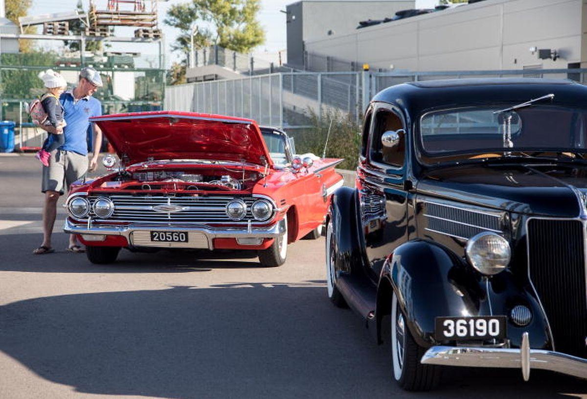 Le Oldtimerday attire chaque année de nombreux visiteurs férus de vieilles mécaniques