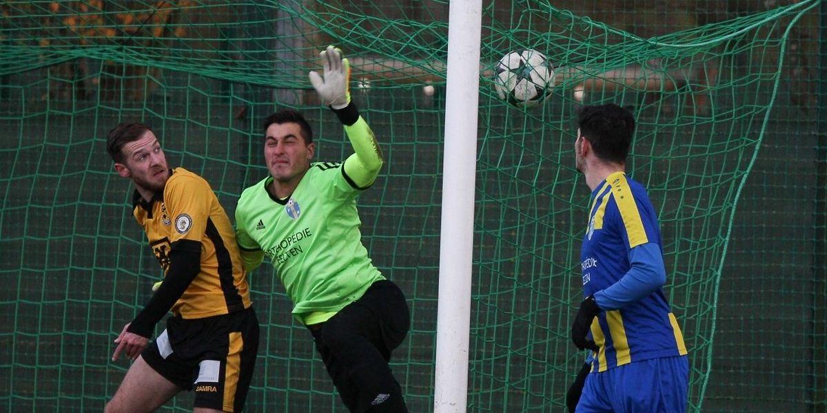 Beggen s'est imposé sur le plus petit score face à Belvaux ce week-end.