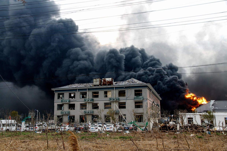 Chemieunfall in China.