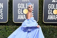 "Best Actress in a Motion Picture � Drama for ""A Star is Born"" nominee Lady Gaga arrives for the 76th annual Golden Globe Awards on January 6, 2019, at the Beverly Hilton hotel in Beverly Hills, California. (Photo by VALERIE MACON / AFP)"