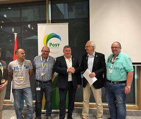 Partnerschaft zwischen der FLMP und der Amicale POST