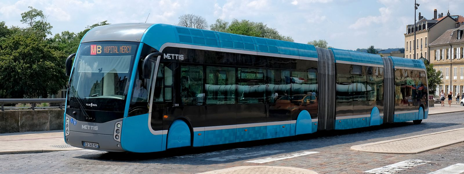 2013 wurde mit dem Mettis ein Hochkapazitätsbus (BHNS) in Metz eingeführt. In Zukunft soll ein ähnliches Bussystem in Luxemburgs Südregion verkehren.