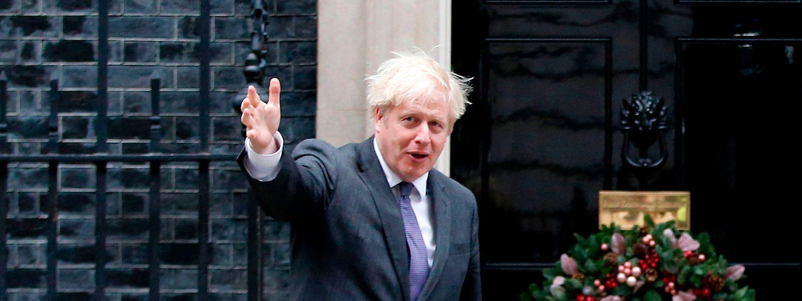 Johnson glaubt, dass die Verhandlungen mit der EU scheitern könnten.