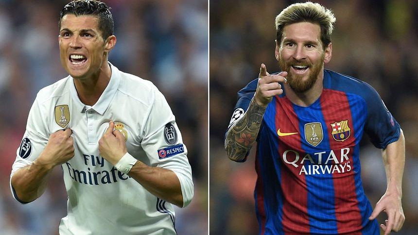 Cristiano Ronaldo (à g.) devrait égaliser Lionel Messi avec un cinquième Ballon d'Or, ce jeudi
