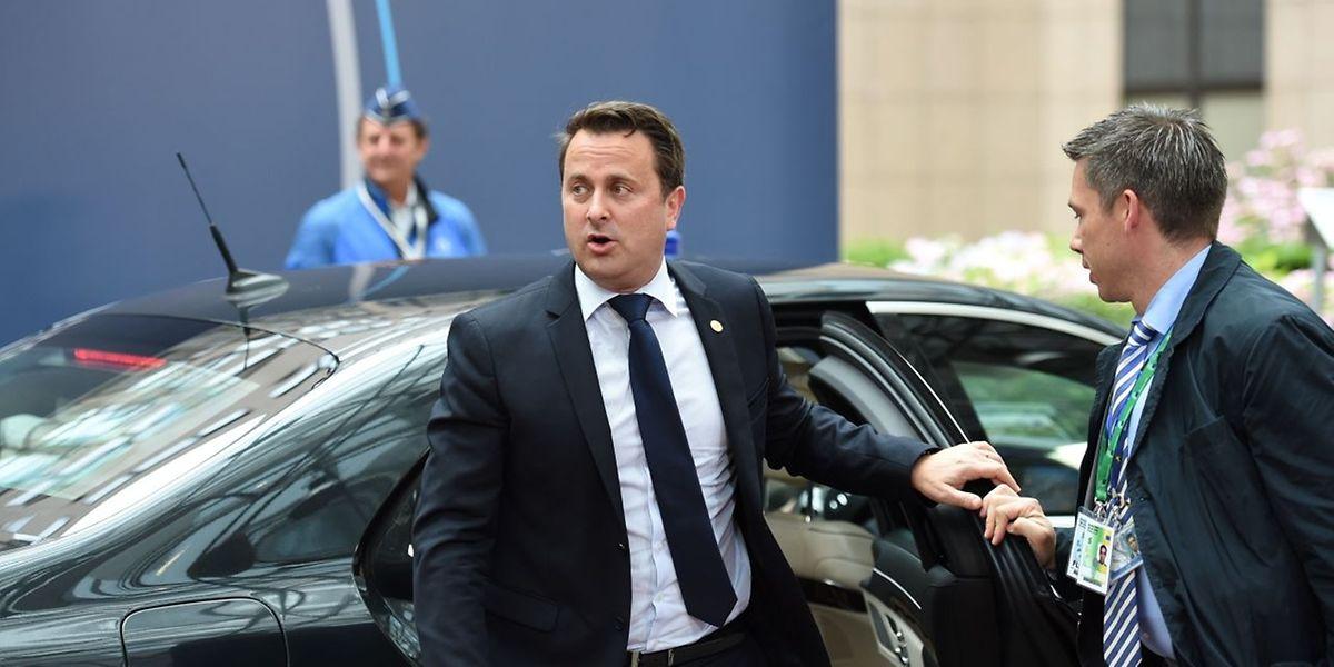 Für Luxemburg nimmt Premier Xavier Bettel am Gipfel teil.