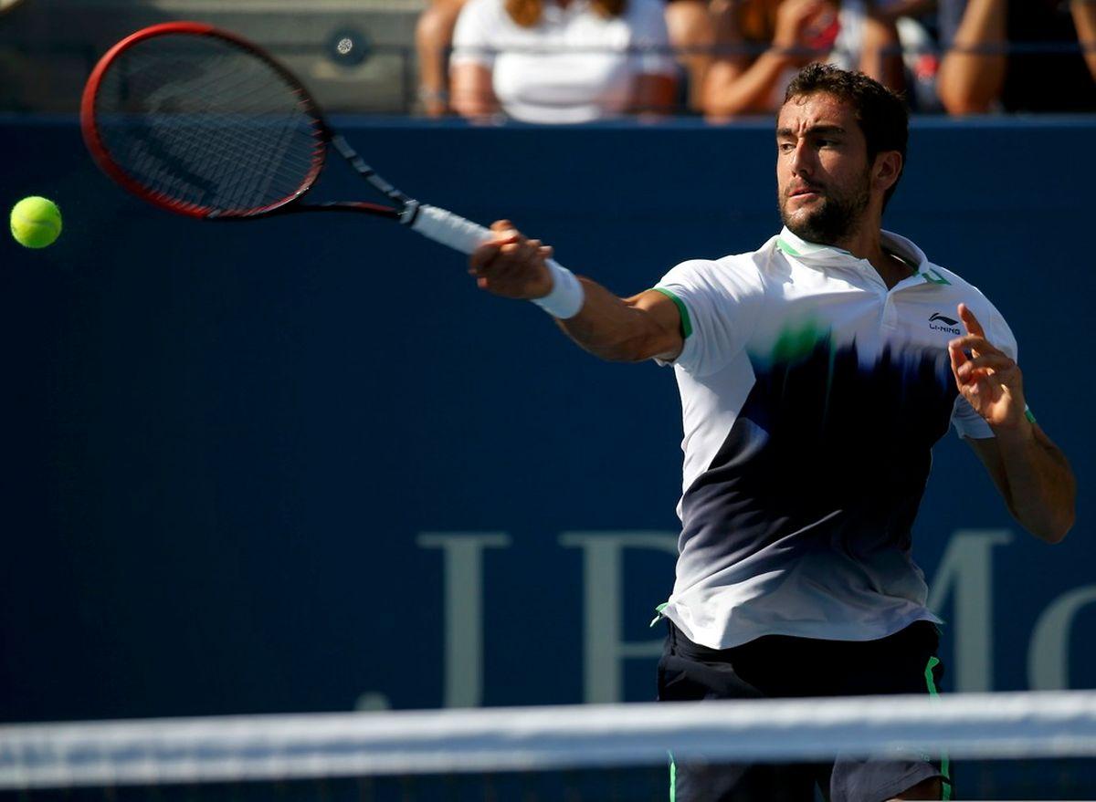 Le Croate Marin Cilic, victorieux de Tomas Berdych,a ffrontera Roger Federer en demi-finale, sur le ciment new-yorkais