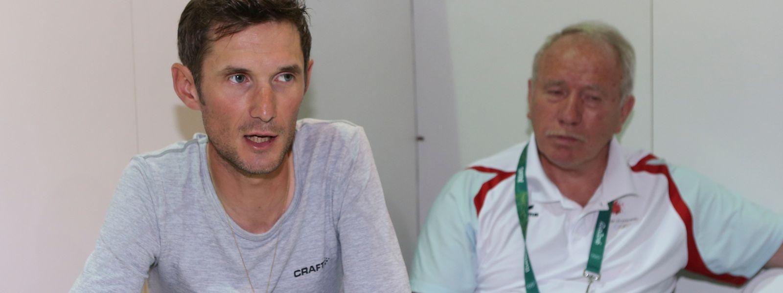 Fränk Schleck bestreitet am 1. Oktober sein letztes Rennen.
