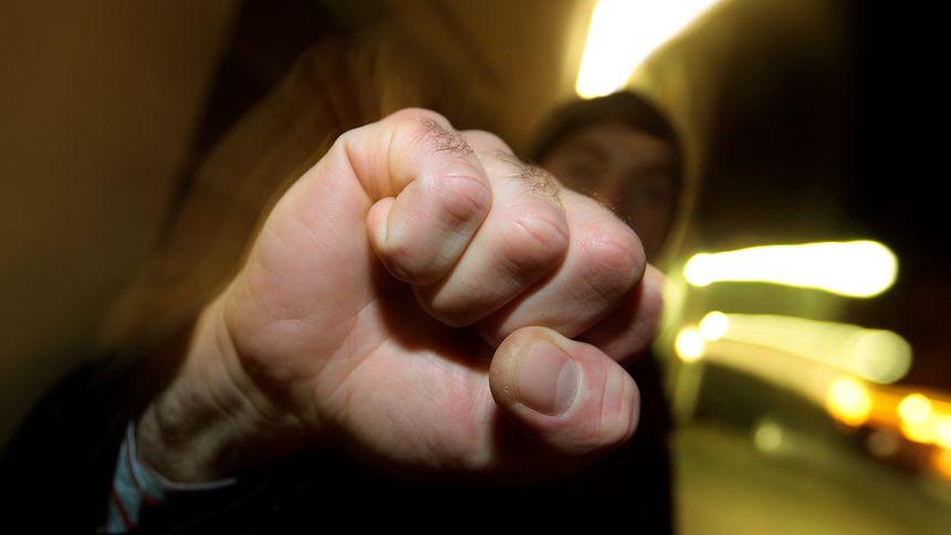 Ungebremst aggressiv:Für manche Berufstätige sind solche Begegungen trauriger Alltag.