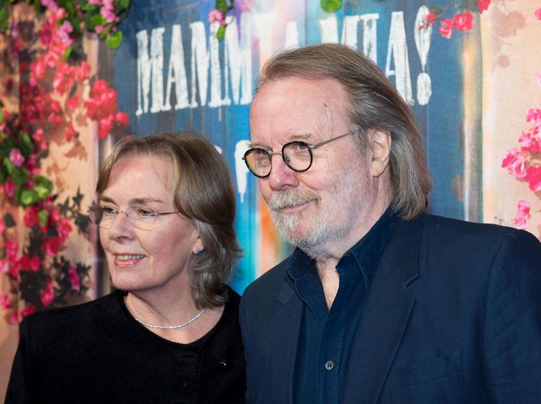 Benny mit Frau Mona.