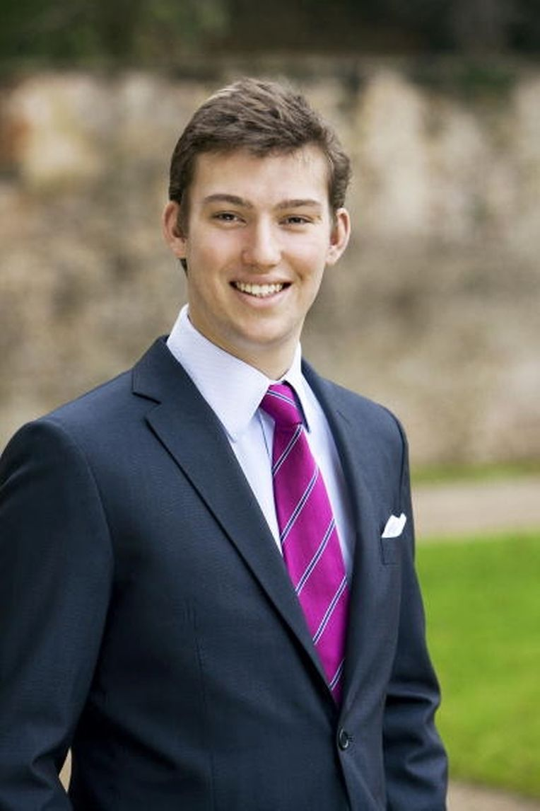 Prinz Sébastien hat sein Master-Studium in den USA beendet.
