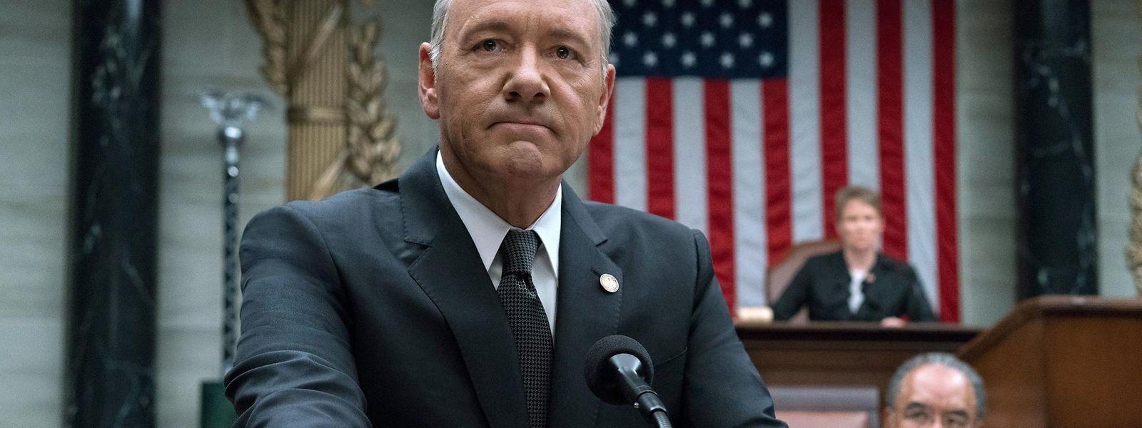 """Dem preisgekrönten Polit-Drama """"House of Cards"""" ging nach sechs Staffeln langsam die Luft aus."""