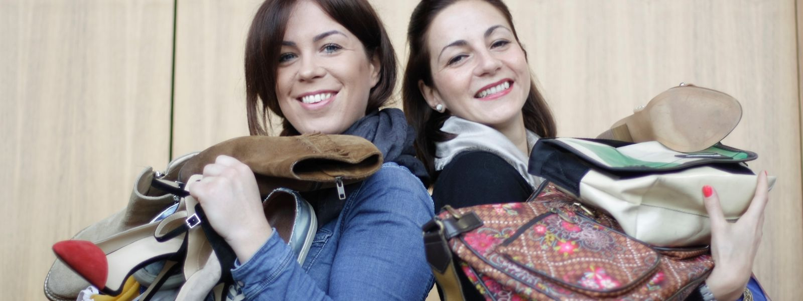 Christine Lafontaine (l.) und Romina Pütz.