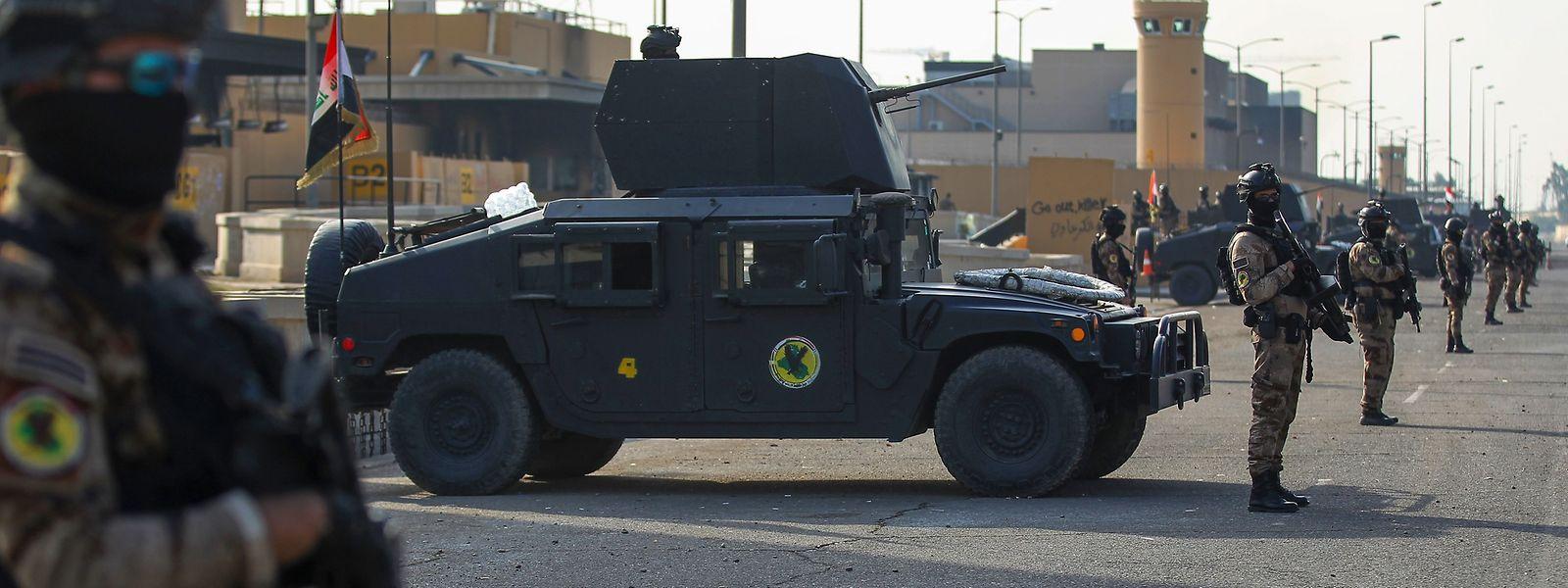 US-Truppen in Bagdad sollen die irakische Armee im Kampf gegen die Terrormiliz Islamischer Staat (IS) unterstützen.