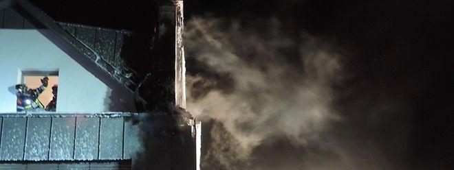 Bei dem Brand in Godbringen wurde niemand verletzt
