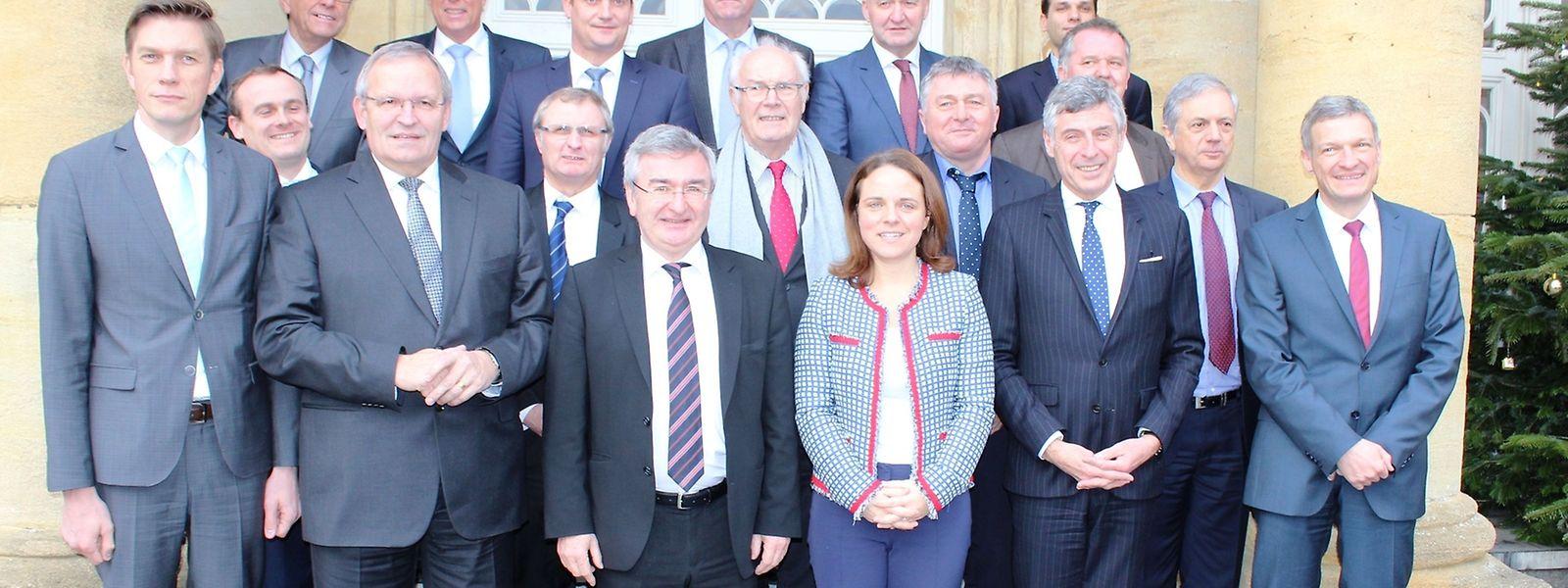 La passation de pouvoir à la présidence de la Grande Région s'est faite mardi à Arlon.