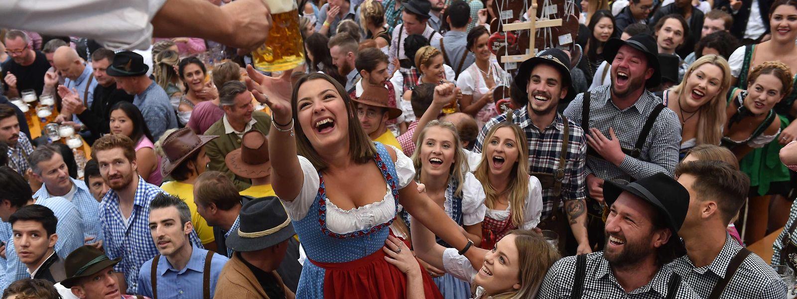 """""""Ozapft is!"""" Das 184. Oktoberfest läuft, die Bilanz nach dem ersten Wochenende ist positiv."""