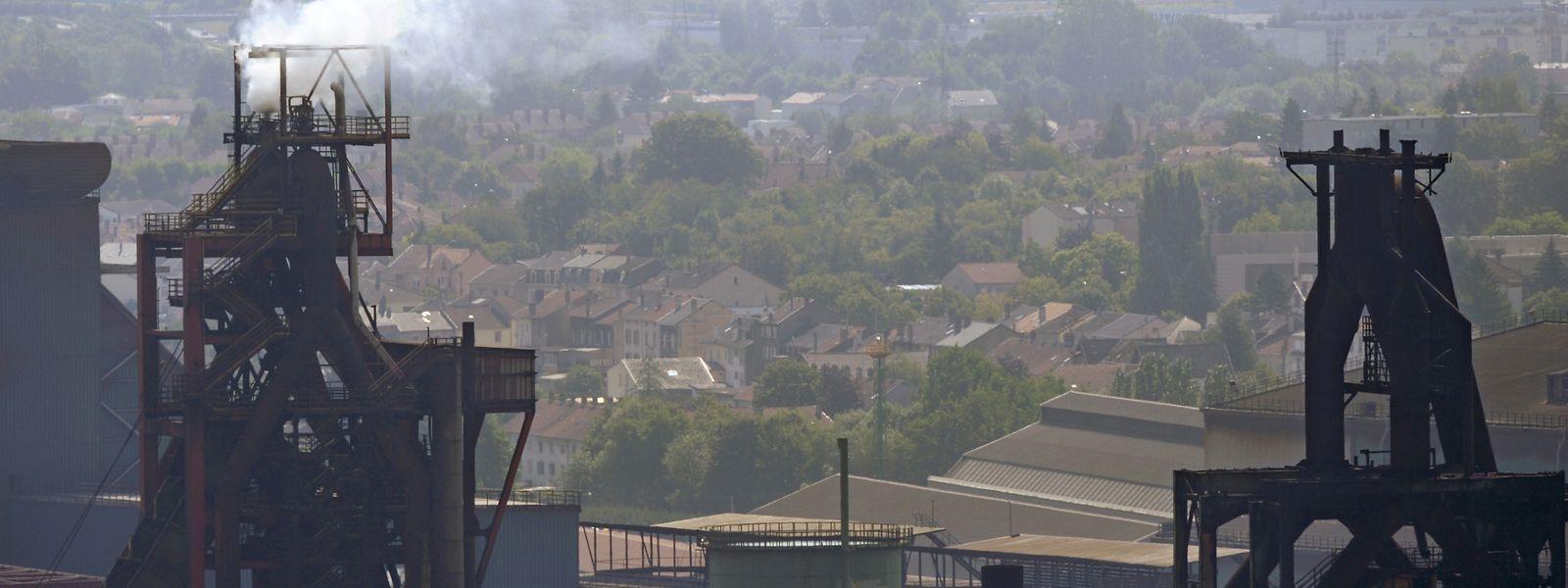 En huit mois, la Fensch a connu cinq épisodes de pollution en lien avec les activités sidérurgiques.