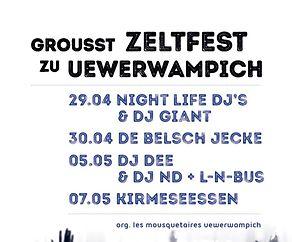 Zeltfest Uewerwampich