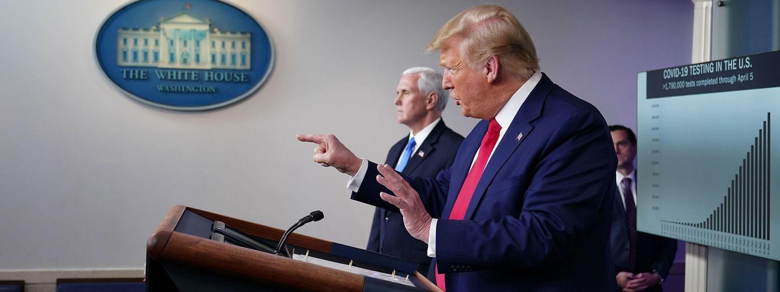 Nie selber schuld: Donald Trump.