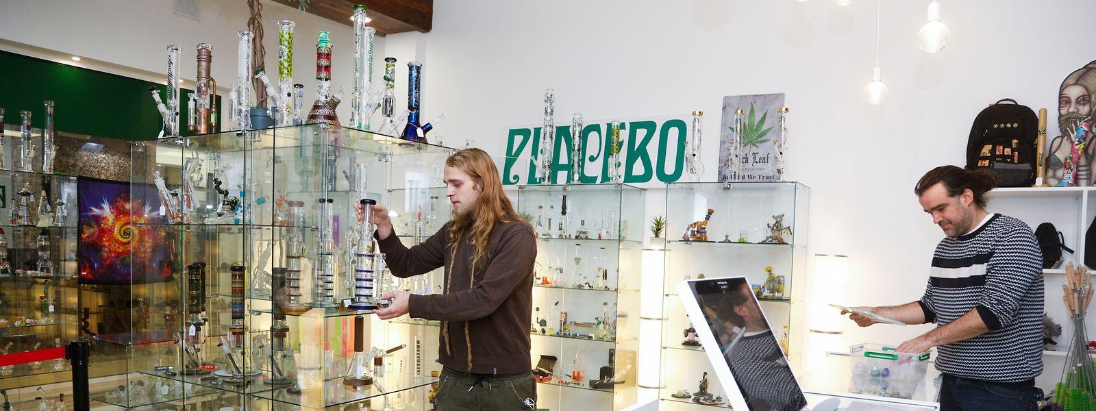 """Das """"Placebo"""" im Bahnhofsviertel ist der älteste CBD-Shop des Landes."""