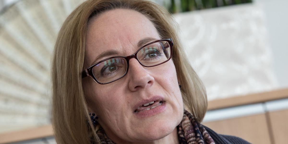 La présidente de la Commission nationale pour la protection des données Tine A. Larsen a reçu le Luxemburger Wort dans son bureau à Belval.
