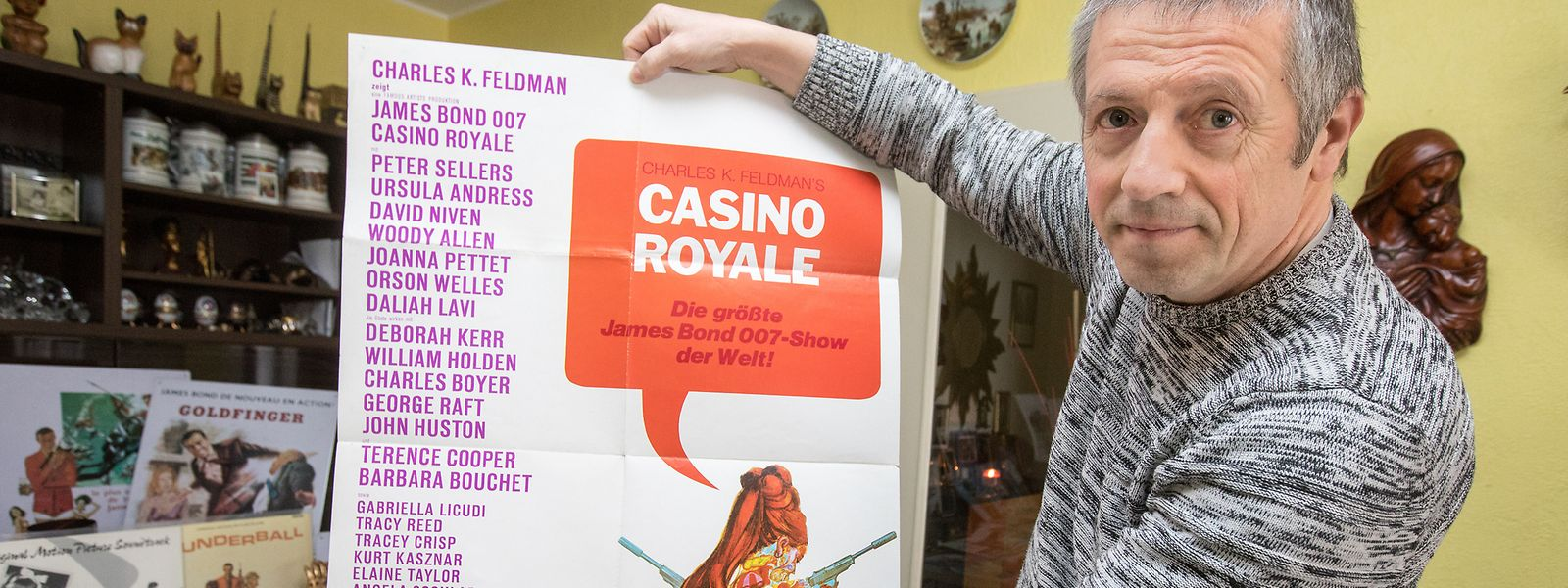 """Das Filmplakat des Films """"Casino Royale"""" ist ein Original aus dem Jahr 1967."""