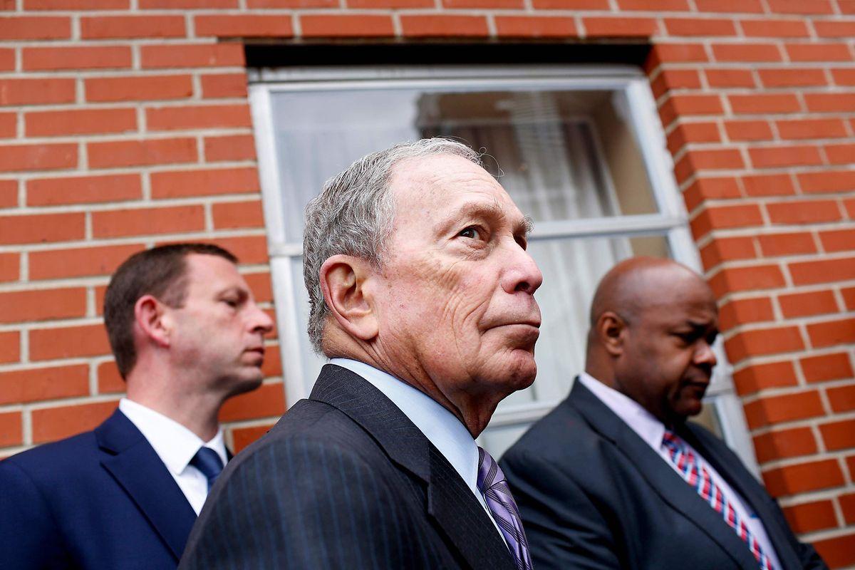 Alle Augen sind am Super Tuesday auf den Ex-Bürgermeister von New York, Michael Bloomberg, gerichtet.