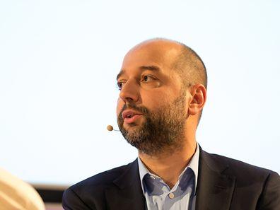 Gerard Lopez / Conférence Luxembourg start-up nation: mythe ou réalité? / Luxembourg-Centre (Z) / Auditorium de la Banque de Luxembourg, 14, boulevard Royal / 18.10.2016