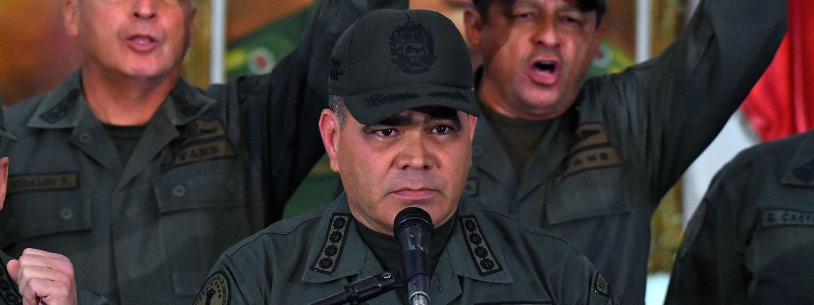 Venezuelas Verteidigungsminister Vladimir Padrino.