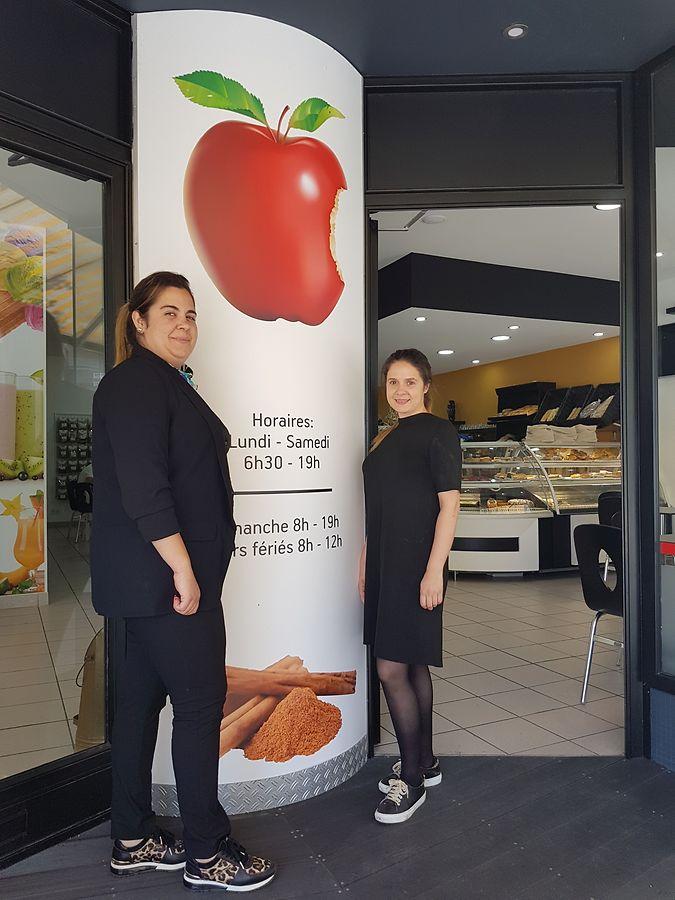 Carla Cabeças e Graciela Almeida são as proprietárias do 'Pomme Cannelle'.