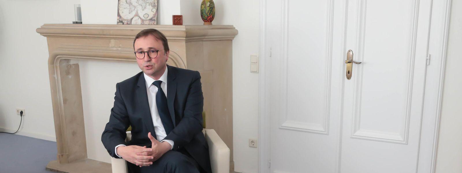 Der liberale Abgeordnete André Bauler ist in diesem Jahr Budgetberichterstatter.