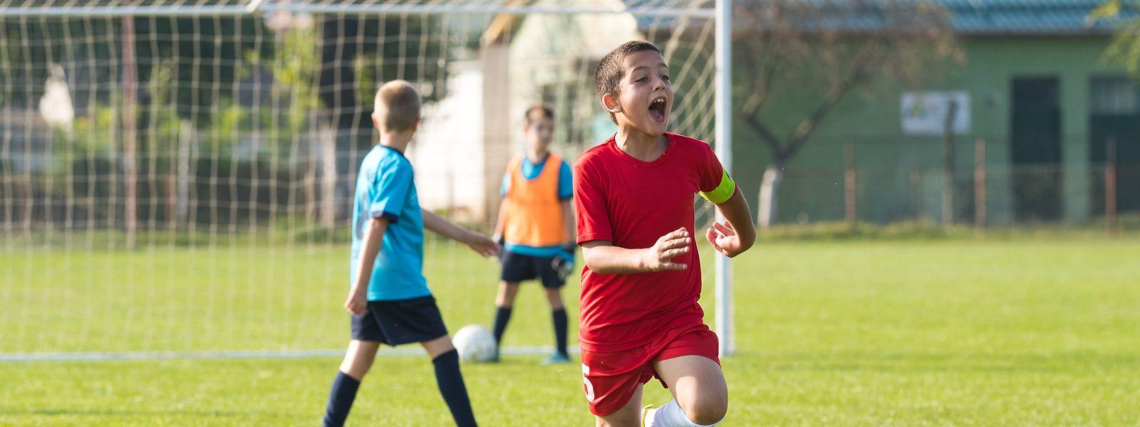 Die Kinder sollen den Spaß am Sport nicht verlieren.